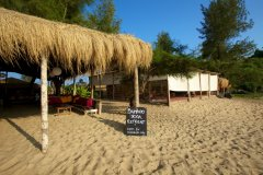 Bamboo Yoga Retreat Patnem beach Goa.