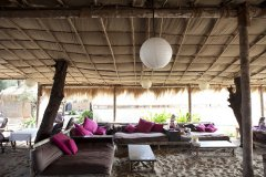 Bamboo Yoga Retreat Restaurant Patnem beach Goa.
