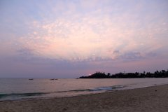 Bamboo Yoga Retreat Yoga Beach Sunset View Patnem beach Goa.