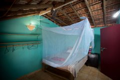 Hidden Gourmet Resort Patnem Beach  Beach Cottage Bedroom
