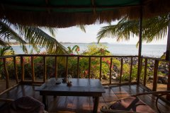 Hidden Gourmet Resort Patnem Beach Wooden Bungalows Balcony View