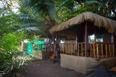Hidden Gourmet Resort Patnem Beach Wooden Bungalows -