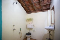 Hidden Gourmet Resort Patnem Beach Single Room Bathroom -
