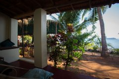 Hidden Gourmet Resort Patnem Beach  Single Room Balcony View -