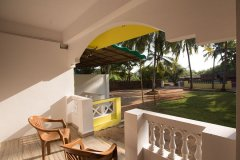 Filcon Goa Holiday Homes Deluxe Non AC Rooms Balcony View -