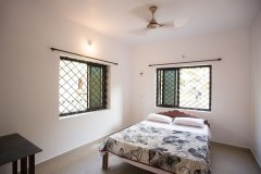 Filcon Goa Holiday Homes Studio Apartments Non AC Bedroom -