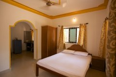 Filcon Goa Holiday Homes AC and Non Rooms Bedrom -