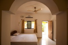 Filcon Goa Holiday Homes AC Room Bedroom -
