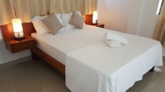 Filcon Holiday Suites Deluxe Room Bedroom Patnem Beach South Goa.