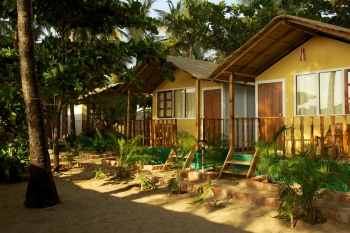 Seafront Resort Patnem Beach Sea View Beach Huts -