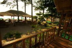 Seafront Resort Patnem Beach Sea View Beach Huts Balcony View