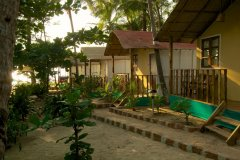 Seafront Resort Patnem Beach Sea View Beach Huts Balcony