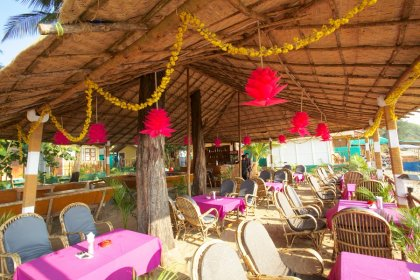 Seafront Resort Patnem Beach Restaurant -