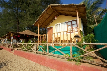 Seafront Resort Patnem Beach Beachfront Huts -