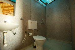 Seafront Resort Patnem Beach Beachfront Huts Bathroom -