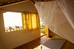 Seafront Resort Patnem Beach Beachfront Huts Bedroom View