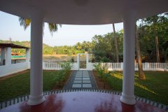 Casa Rosa Galgibag Beach View From Front door looking out -