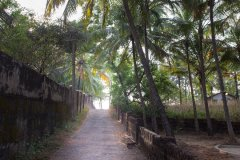Casa Rosa Way To Galgibag Beach