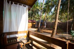 Sea Star Resort Agonda beach Deluxe Garden View Beach Huts Balcony View