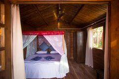 Sea Star Resort Agonda beach Deluxe Sea View Beach Huts Bedroom -