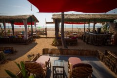 Sea Star Resort Agonda beach Deluxe Sea View Beach Huts Balcony View -