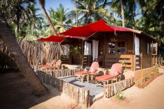 Sea Star Resort Agonda beach Deluxe Sea View Beach Huts -