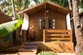 Sea Star Resort Agonda beach Deluxe Garden View Beach Huts -