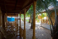 Ramson Goa Resort Agonda Beach Partial Sea View Beach Huts Balcony View