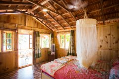 Ramson Goa Resort Agonda Beach, Beachfront Huts Bedroom -