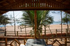 Ramson Goa Resort Agonda Beach, Beachfront Huts Balcony View -