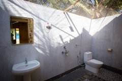 Ramson Goa Resort Agonda Beach Sea View Beach Huts Bathroom -