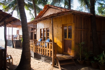 Galaxy Inn Agonda Beach Partial Sea View Beach Huts