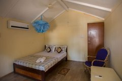 Sea Shades Palolem Beach AC Cottages Bedroom