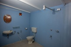 Sea Shades Palolem Beach AC Cottages Bathroom
