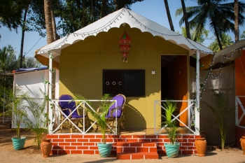 Sea Shades Palolem Beach Non-AC Cottages