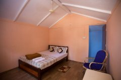 Sea Shades Palolem Beach Non-AC Cottages Bedroom