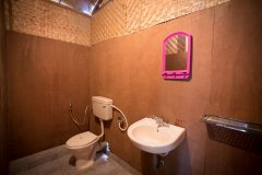 Magic World Palolem Beach Standard Cottage Bathroom