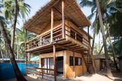Magic World Palolem Beach Sea View Bungalow