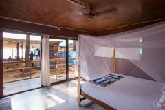 Magic World Palolem Beach Sea View Bungalow Bedroom