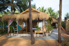 Surya Cafe and Huts Beach Huts -