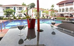Keys Resort Ronil Pool Bar Calangute Beach Goa.