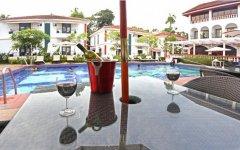 Keys Resort Ronil Pool Bar Calangute Beach Goa.