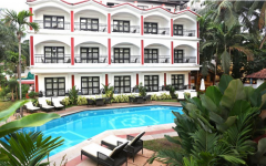 Keys Resort Ronil Pool View Calangute Beach Goa.