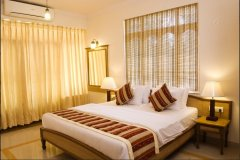 Ocean Palms Resort Palm Room Calangute Beach Goa. -