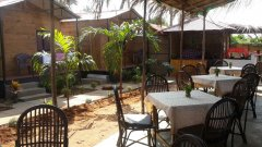 The Spring Cottages Restaurant Calangute Beach Goa. -