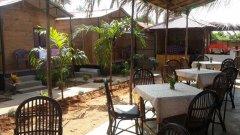 The Spring Cottages Restaurant Calangute Beach Goa.