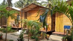 The Spring Cottages Calangute Beach Goa. -