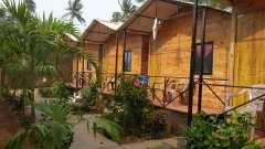 The Spring Cottages Calangute Beach Goa.