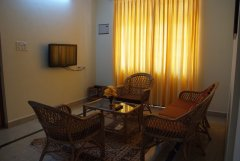 The Tubki Resort Deluxe Double Room Interior View Patnem Beach Goa.