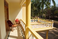 The Tubki Resort Deluxe Double Room  Balcony Patnem Beach Goa. -